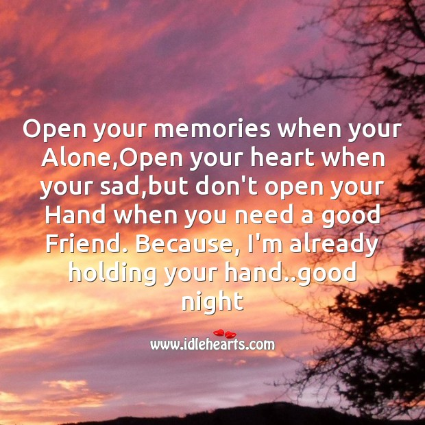 Image, Open your memories when your alone