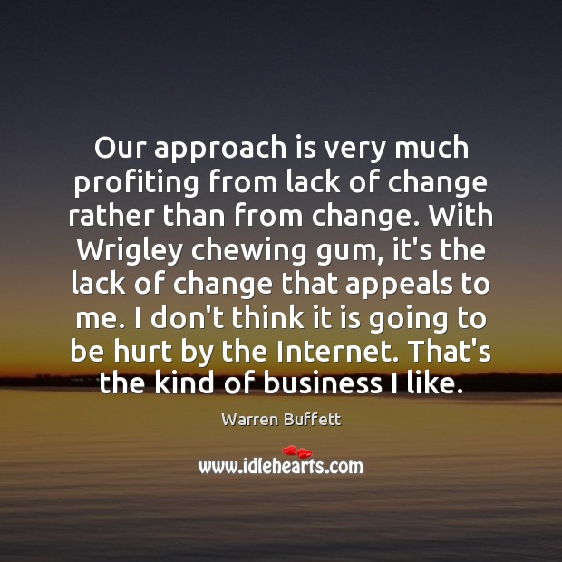 Image, Our approach is very much profiting from lack of change rather than
