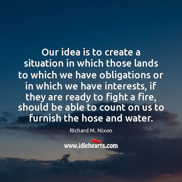 Our idea is to create a situation in which those lands to Image