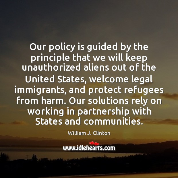 Image, Our policy is guided by the principle that we will keep unauthorized