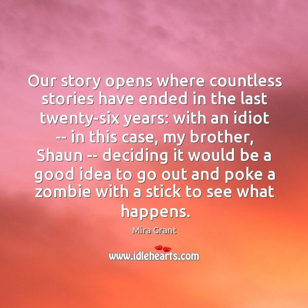 Our story opens where countless stories have ended in the last twenty-six Image