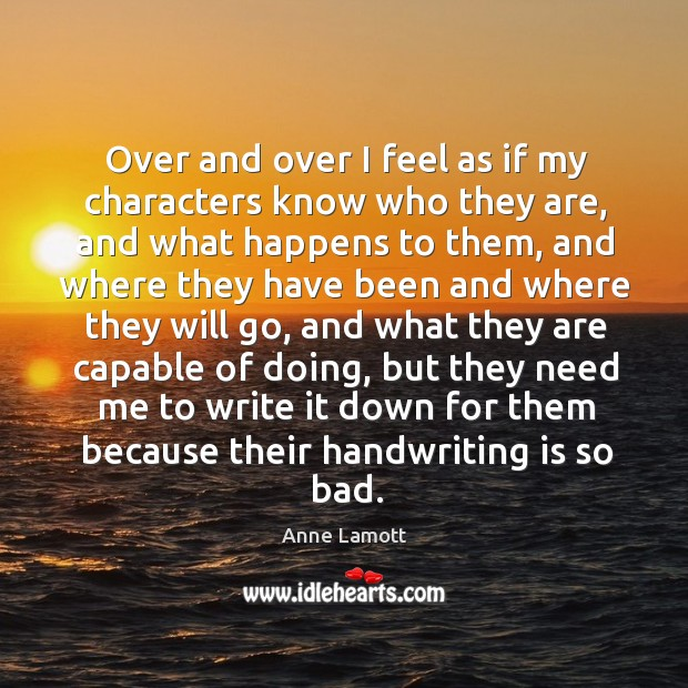 Picture Quote by Anne Lamott