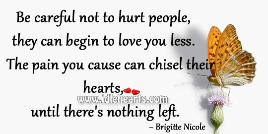 Be careful not to hurt people Image