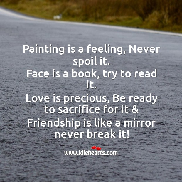 Painting is a feeling Image