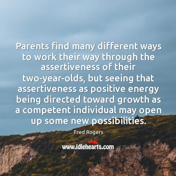 Image, Parents find many different ways to work their way through the assertiveness