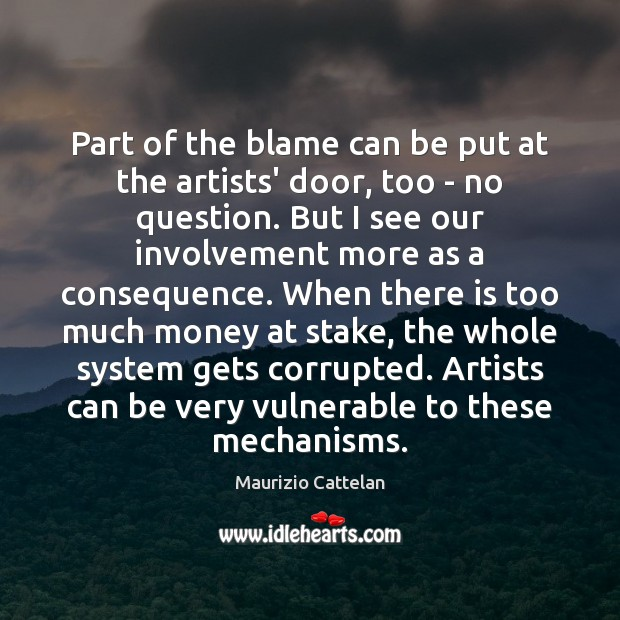 Part of the blame can be put at the artists' door, too Image