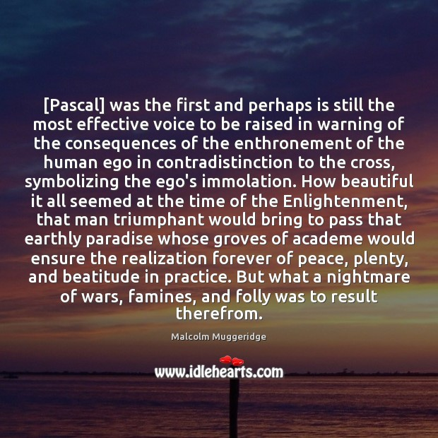 Image, [Pascal] was the first and perhaps is still the most effective voice