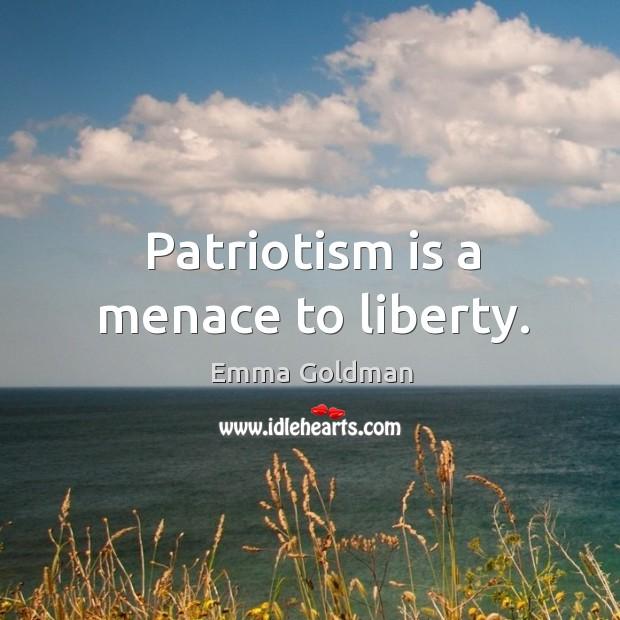 emma goldman patriotism essay
