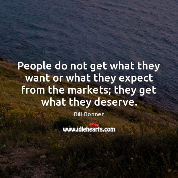 Image, People do not get what they want or what they expect from
