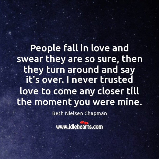 Image, People fall in love and swear they are so sure, then they