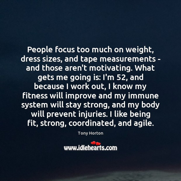 People focus too much on weight, dress sizes, and tape measurements – Image