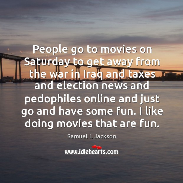 People go to movies on saturday to get away from the war in iraq and taxes and election news and Image
