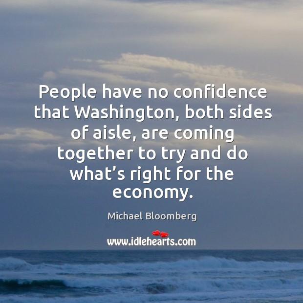 People have no confidence that washington, both sides of aisle Image