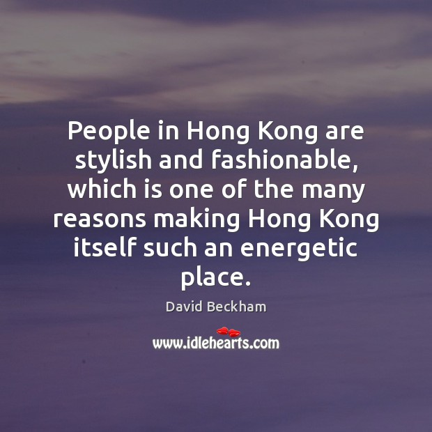 People in Hong Kong are stylish and fashionable, which is one of Image