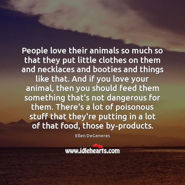 People love their animals so much so that they put little clothes Image