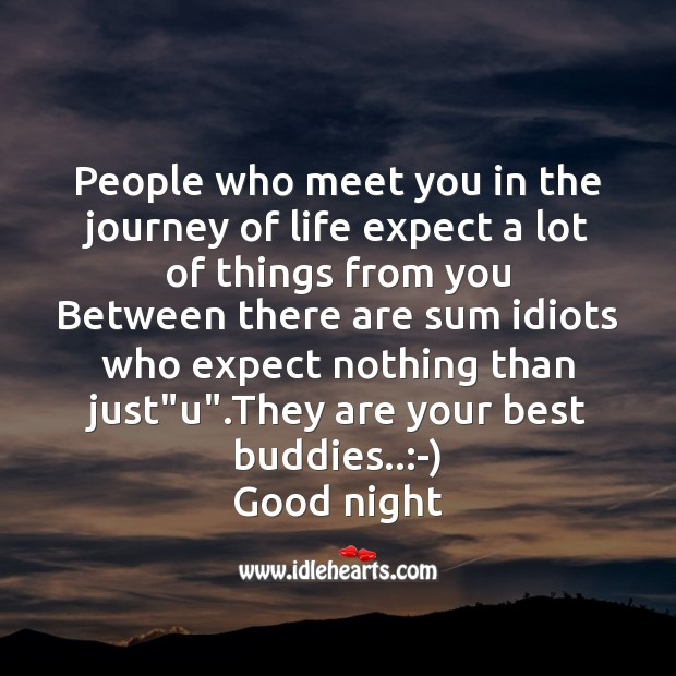 People who meet you in the journey of life Image