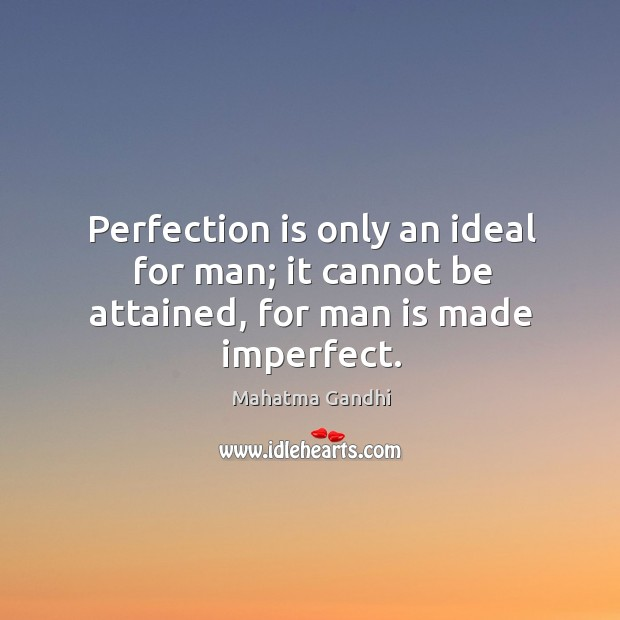 Perfection Quotes Image