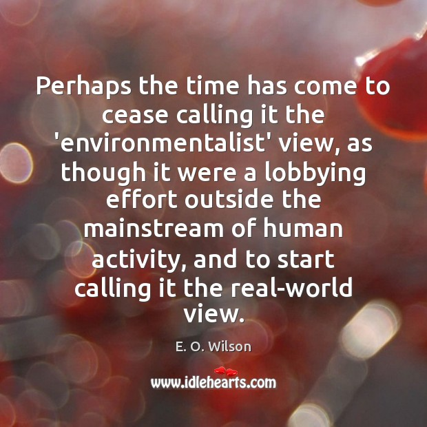 Image, Perhaps the time has come to cease calling it the 'environmentalist' view,