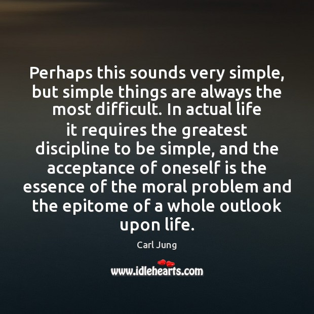 Image, Perhaps this sounds very simple, but simple things are always the most