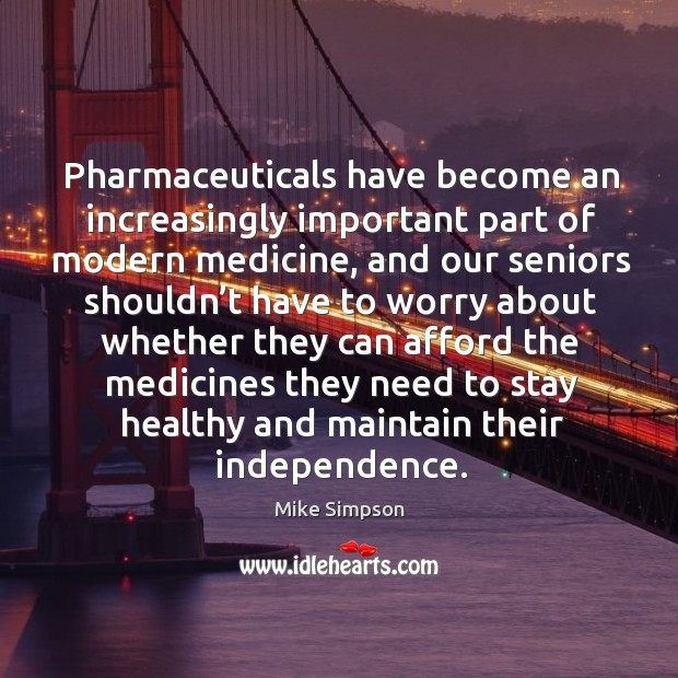 Pharmaceuticals have become an increasingly important part of modern medicine Image