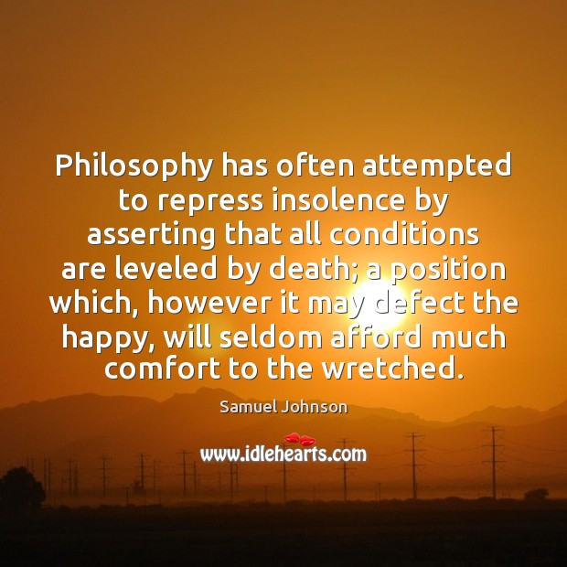 Image, Philosophy has often attempted to repress insolence by asserting that all conditions