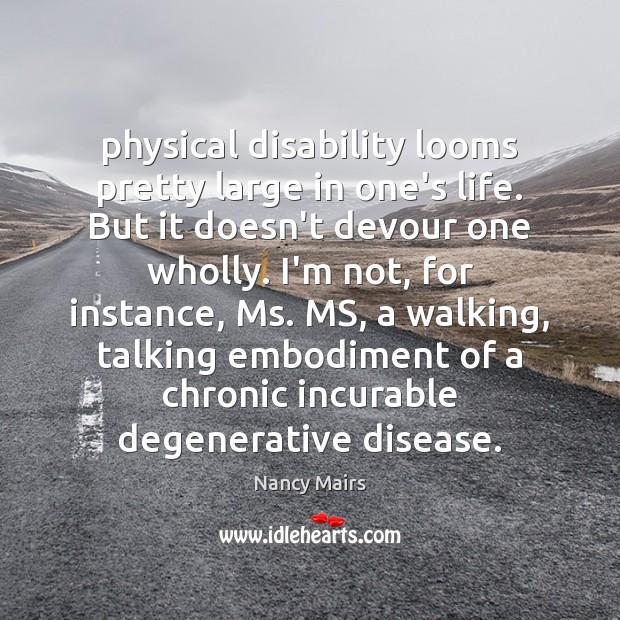 nancy mairs disability