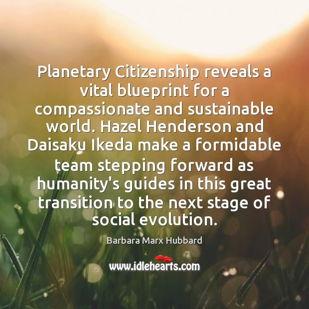 Image, Planetary Citizenship reveals a vital blueprint for a compassionate and sustainable world.