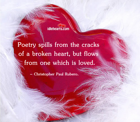 Poetry Spills From The Cracks Of A…