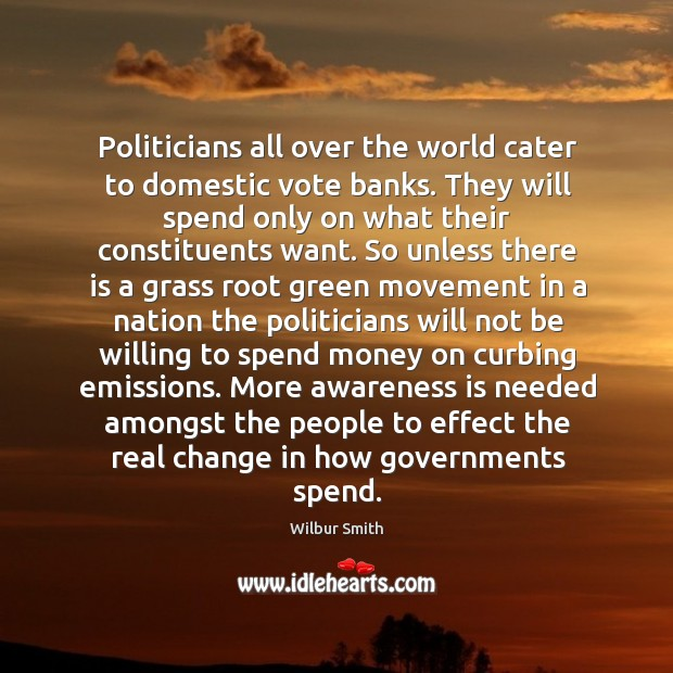 Politicians all over the world cater to domestic vote banks. They will Image