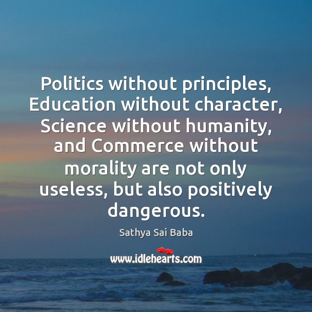 politics without principles The roots of polarization: politics without morality and the not without moral those deeper moral principles that once informed political.