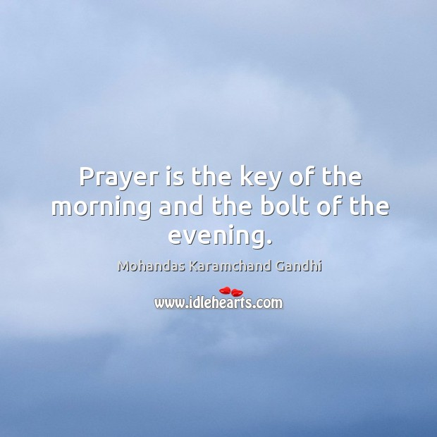 Image, Bolt, Evening, Key, Morning, Prayer