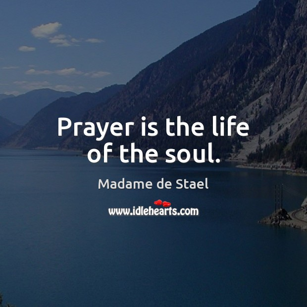 Picture Quote by Madame de Stael