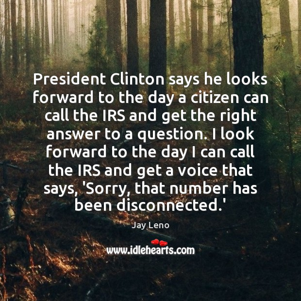 Image, President Clinton says he looks forward to the day a citizen can
