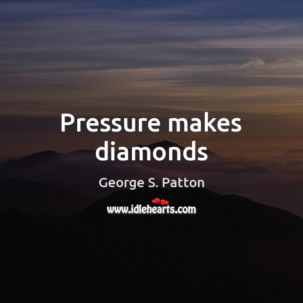Image, Pressure makes diamonds