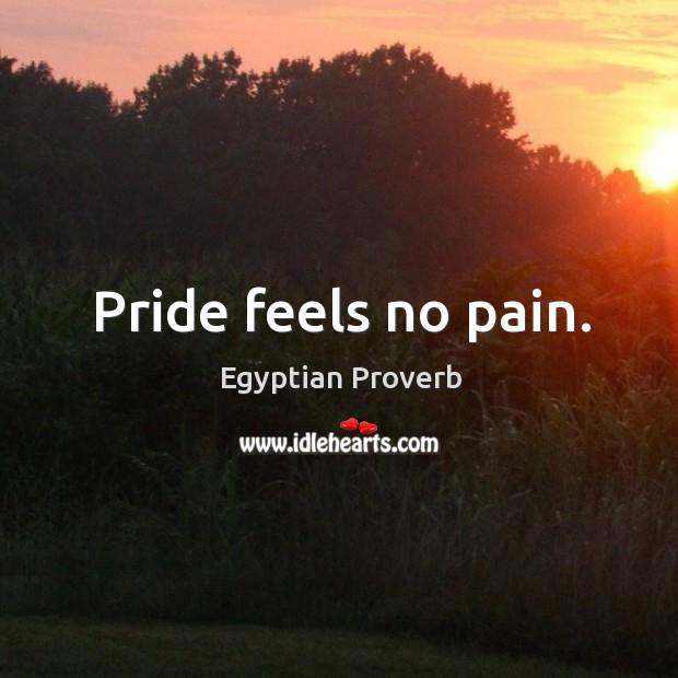 Pride feels no pain. Image
