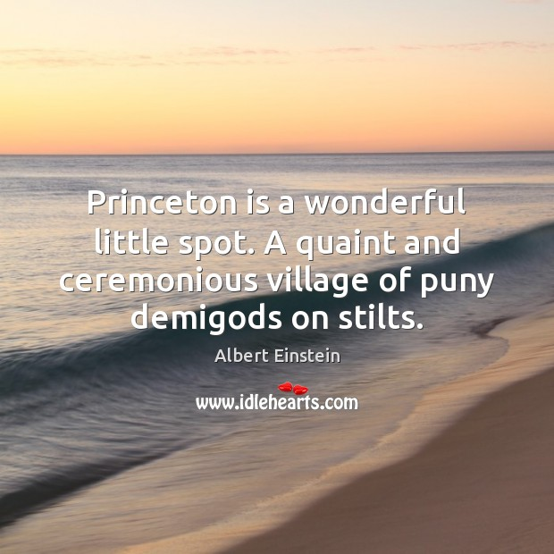 Image, Princeton is a wonderful little spot. A quaint and ceremonious village of
