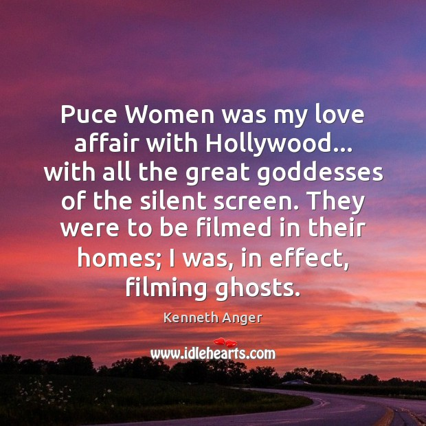 Puce Women was my love affair with Hollywood… with all the great Image