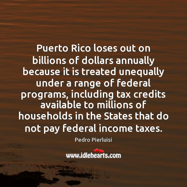 Image, Puerto Rico loses out on billions of dollars annually because it is