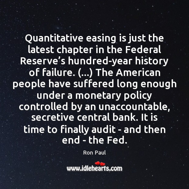 Quantitative easing is just the latest chapter in the Federal Reserve's Image