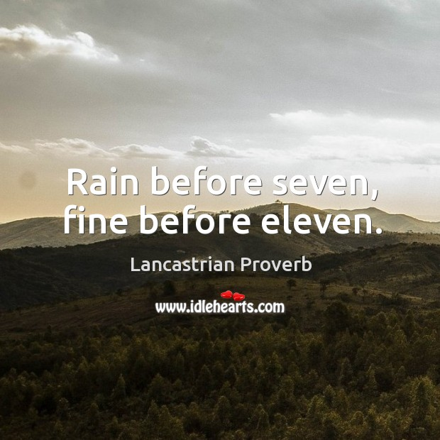 Lancastrian Proverbs