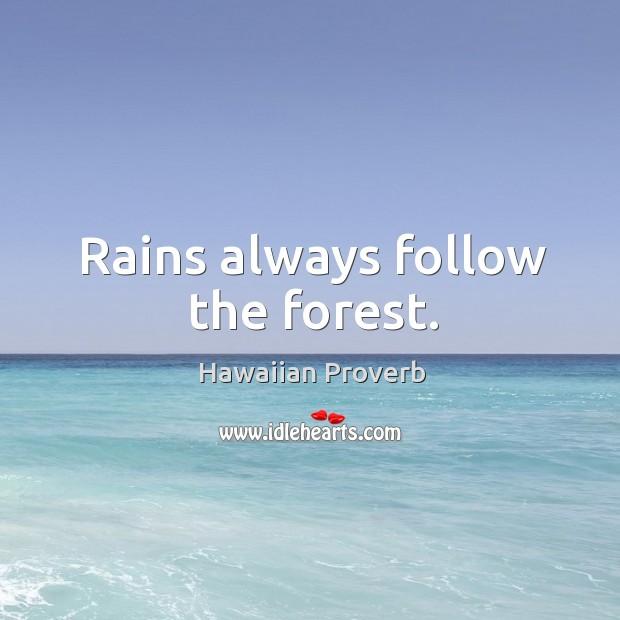 Hawaiian Proverbs