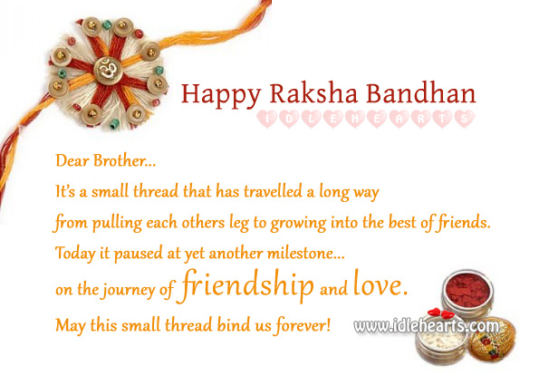 Happy Raksha Bandhan – Celebrate the Bond of Love.