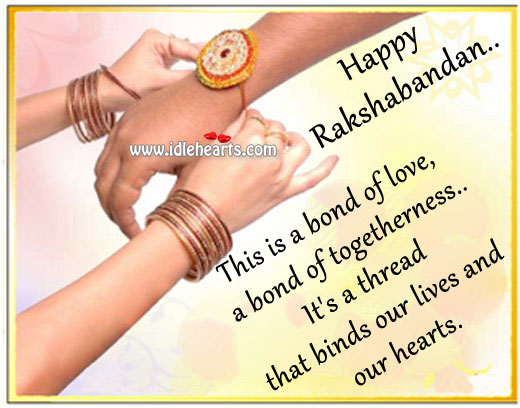 Raksha bandhan wishes Raksha Bandhan Quotes Image