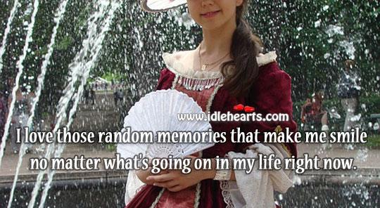 Random memories that make me smile Image