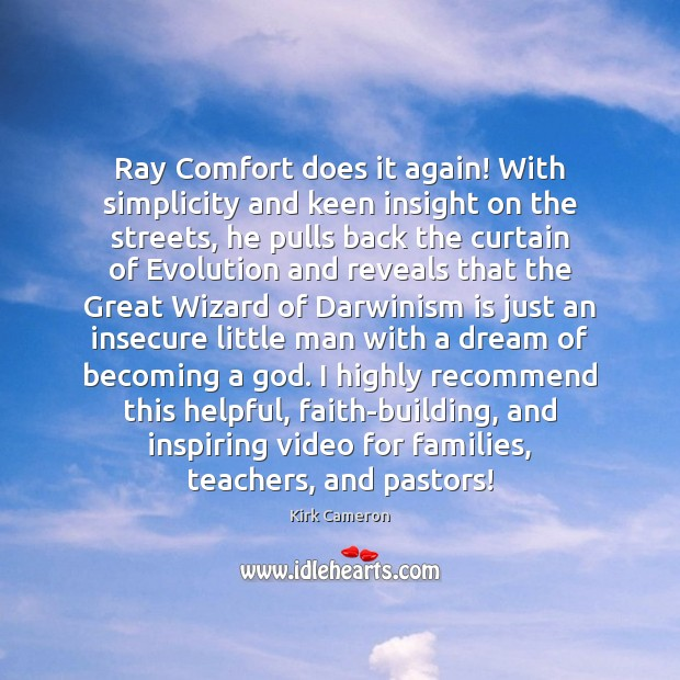 Image, Ray Comfort does it again! With simplicity and keen insight on the