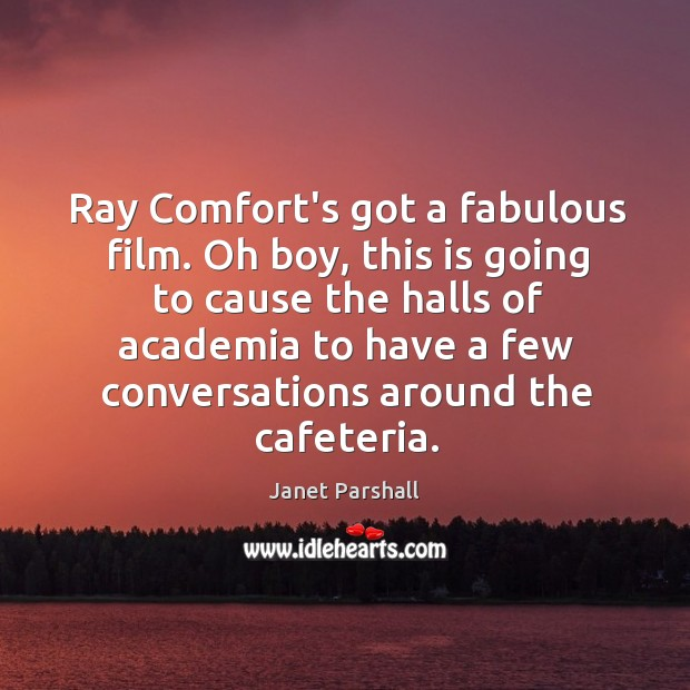 Image, Ray Comfort's got a fabulous film. Oh boy, this is going to