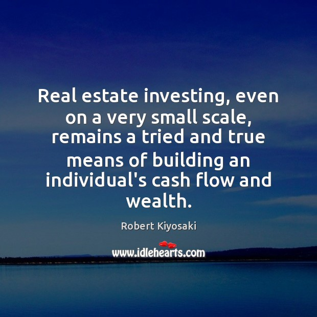 Image, Real estate investing, even on a very small scale, remains a tried
