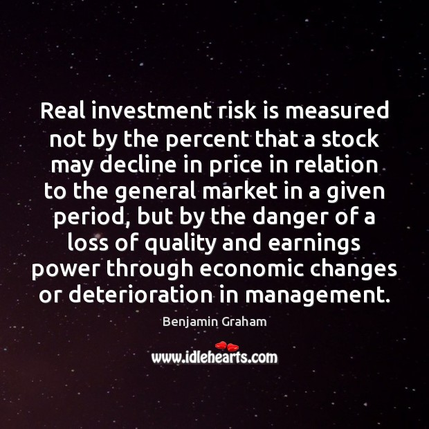 Image, Real investment risk is measured not by the percent that a stock
