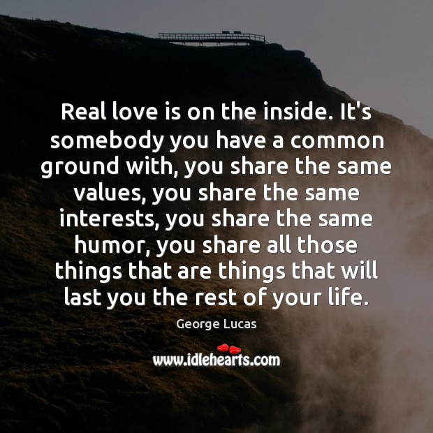 Real Love Quotes Image