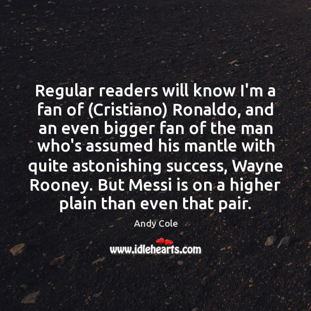 Image, Regular readers will know I'm a fan of (Cristiano) Ronaldo, and an